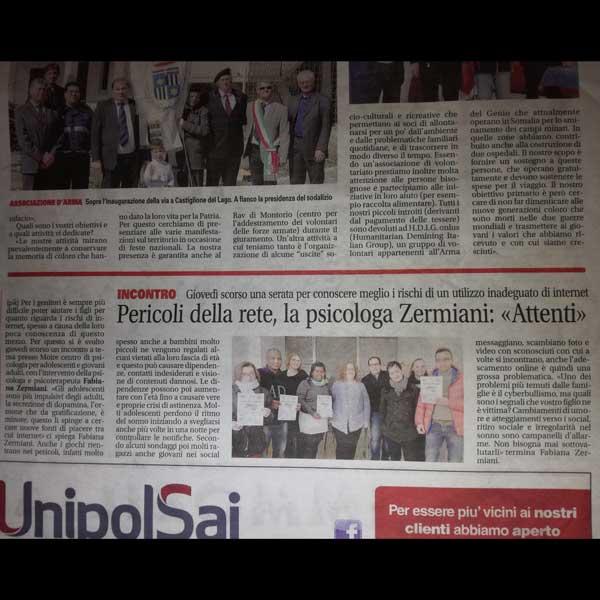 Articolo del San Bonifacio Verona