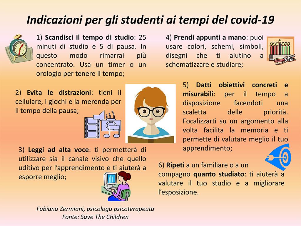 Studenti e Covid-19